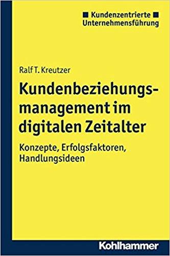 Book Cover: Kundenbeziehungsmanagement im digitalen Zeitalter