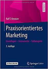 Book Cover: Praxisorientiertes Marketing