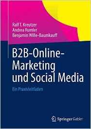 Book Cover: B2B-Online-Marketing und Social Media