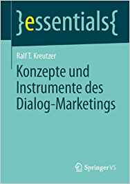 Book Cover: Konzepte und Instrumente des Dialog-Marketings