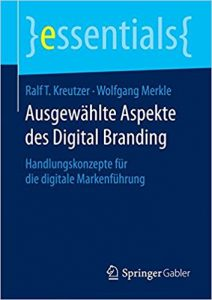 Book Cover: Ausgewählte Aspekte des Digital Branding