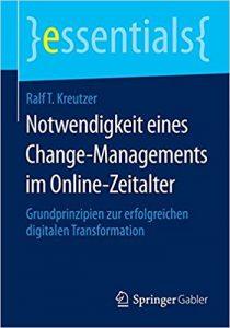 Book Cover: Notwendigkeit eines Change-Managements im Online-Zeitalter