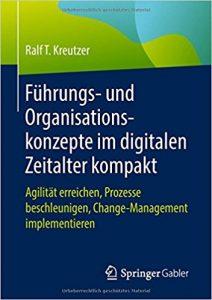 Book Cover: Führung- und Organisationskonzepte im digitalen Zeitalter kompakt