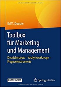 Book Cover: Toolbox für Marketing und Management