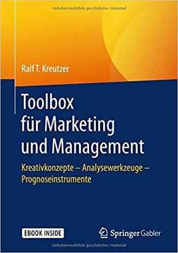 Book Cover: Toolbox für Marketing und Management