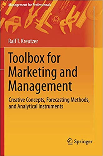 Book Cover: Toolbox for Marketing and Management