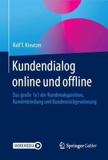 Book Cover: Kundendialog online und offline